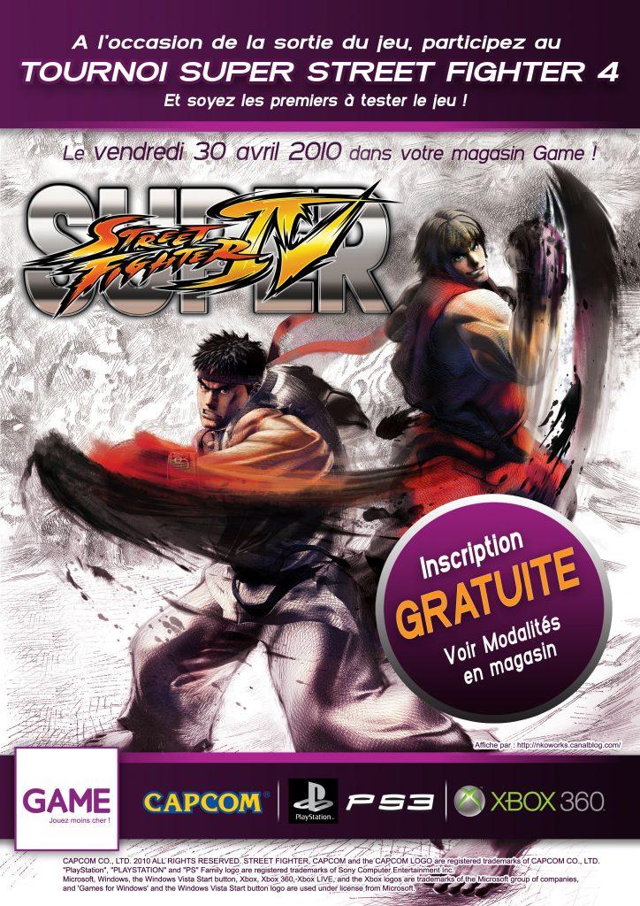 Affiche Tournoi SSF4 A4