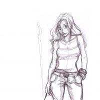 canyon girl-rough
