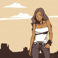 canyon girl-rough-done